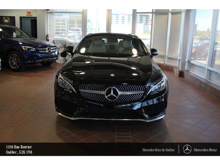 Mercedes Benz Quebec >> Pre Owned 2017 Mercedes Benz C Class C300 Coupe 4matic Toit