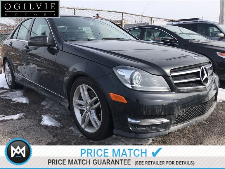 2014 Mercedes-Benz C300 4Matic Sunroof Avantgarde Bi-Xenon