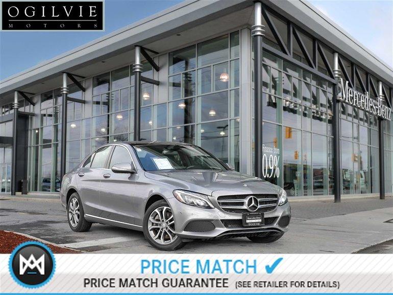 2015 Mercedes-Benz C300 4Matic Navi Panoroof Parktronic