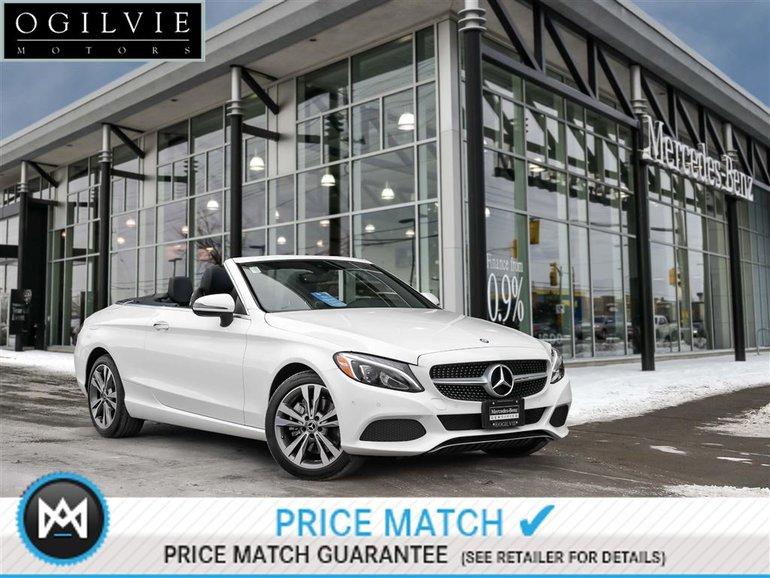 2017 Mercedes-Benz C300 4Matic Parktronic Navigation Sirius