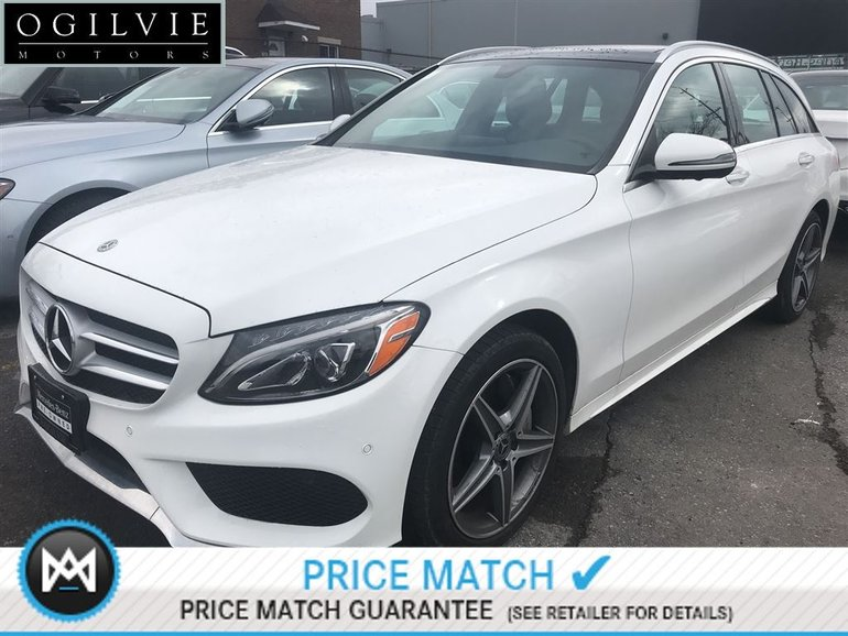 2018 Mercedes-Benz C300 4Matic Navi Panoroof Sat radio AMG styling