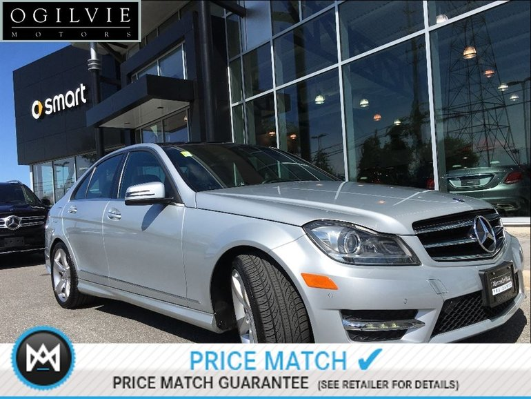 2014 Mercedes Benz C350 4Matic Parktronic W/parking Guidance, Navi,  Panoramic Sunroof