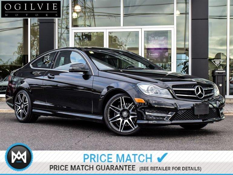 2015 Mercedes-Benz C350 4Matic Navi, Parktronic, Rear view camera