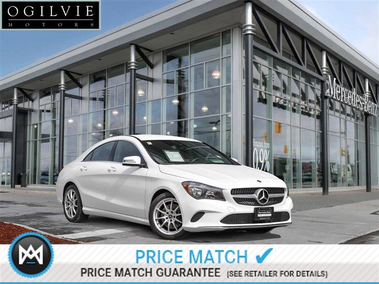 2018 Mercedes-Benz CLA250 4Matic Back up cam heated seats active brake assist