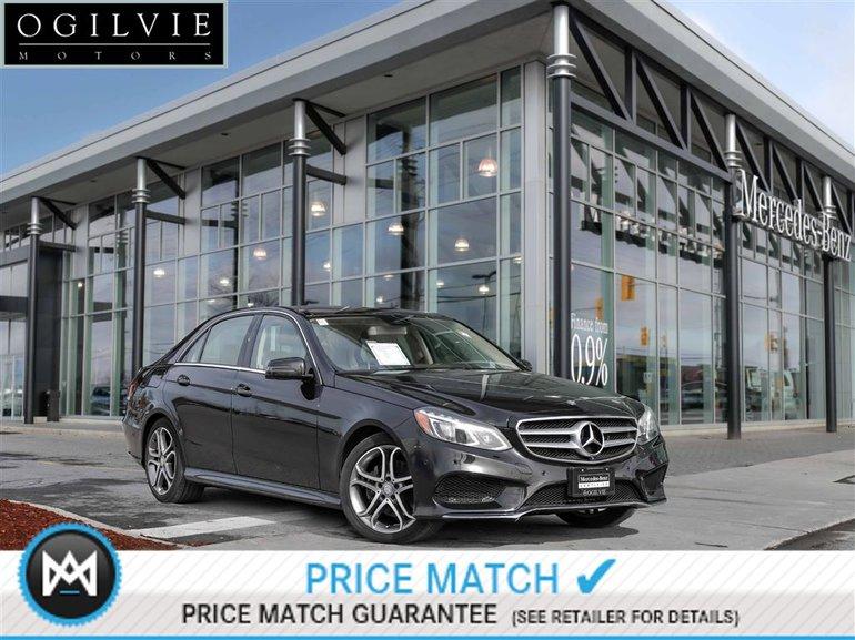 2014 Mercedes-Benz E300 4Matic Panoroof 360 Birds Eye Parktronic Blind spot