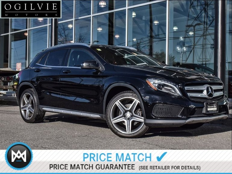 2015 Mercedes-Benz GLA250 4Matic Panoroof, Nav, AMG styling