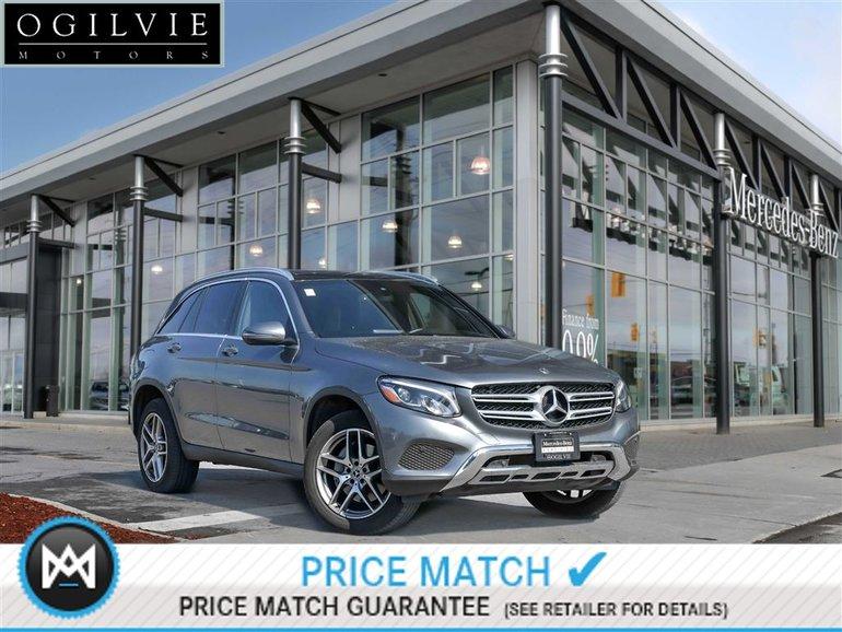 2018 Mercedes-Benz GLC300 4Maitc Panoroof Navi Sat Radio