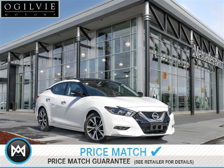 2016 Nissan Maxima CVT Heated Seats Platinium