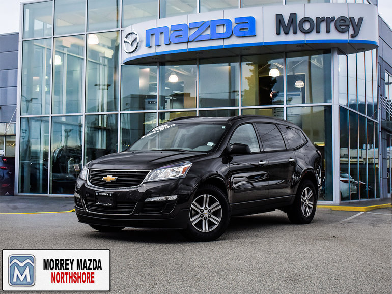 2017 Chevrolet Traverse All Wheel Drive! 7 Passenger. Low kms!