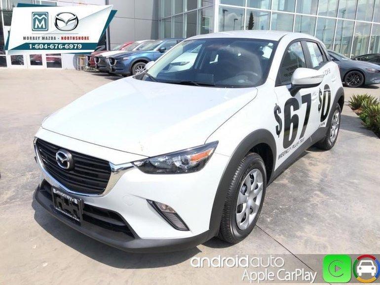 2019 Mazda CX-3 GX MT  - Apple CarPlay -  Android Auto