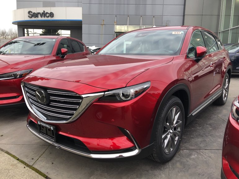 2019 Mazda CX-9 GT Luxury 7 Passenger SUV with Turbo! Click