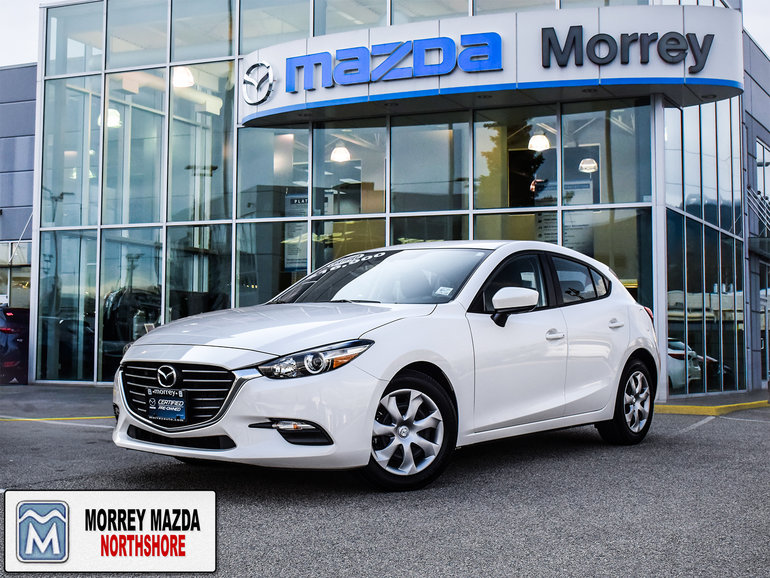 2017  Mazda3 Sport GX Hatchback. Affordable. Great Rates. Click