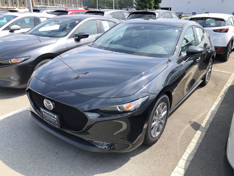 2019  Mazda3 Sport GS Hatchback. Now with the 2.5L engine! Click