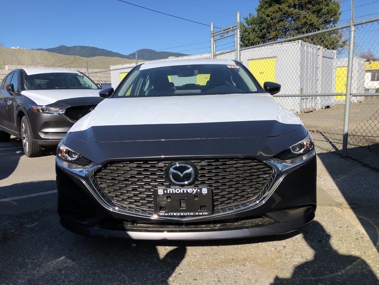 2019  Mazda3 GS AWD. In stock, take it home today!