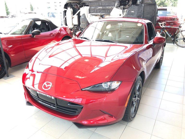 2019 Mazda MX-5 RF GT 6sp Black Leather