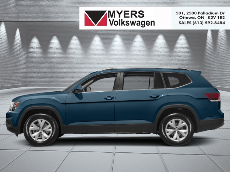 2019 Volkswagen Atlas Highline 3.6 FSI 4MOTION  - $393.71 B/W