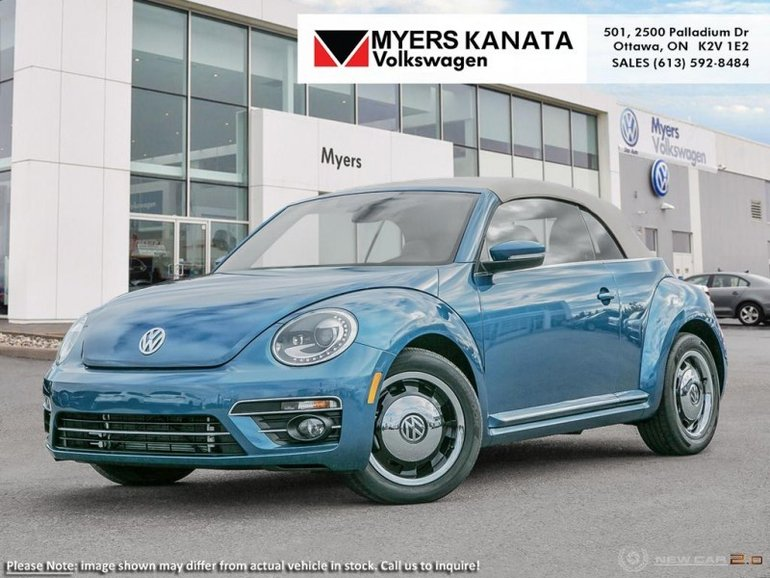 2018 Volkswagen Beetle Convertible Coast  - 	Sunroof - $222.58 B/W