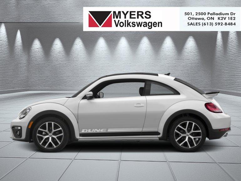 2018 Volkswagen Beetle Dune  - Navigation -  Sunroof - $240.24 B/W