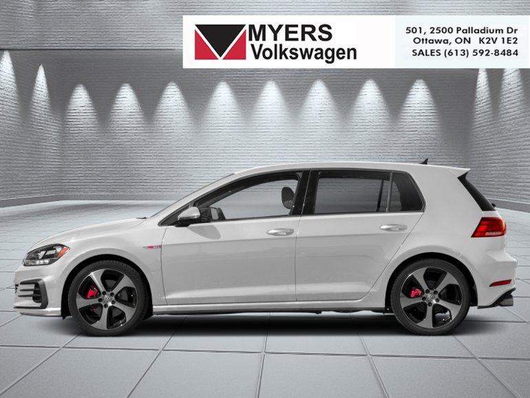 New 2019 Volkswagen Golf Gti Autobahn 268 64 B W For Sale