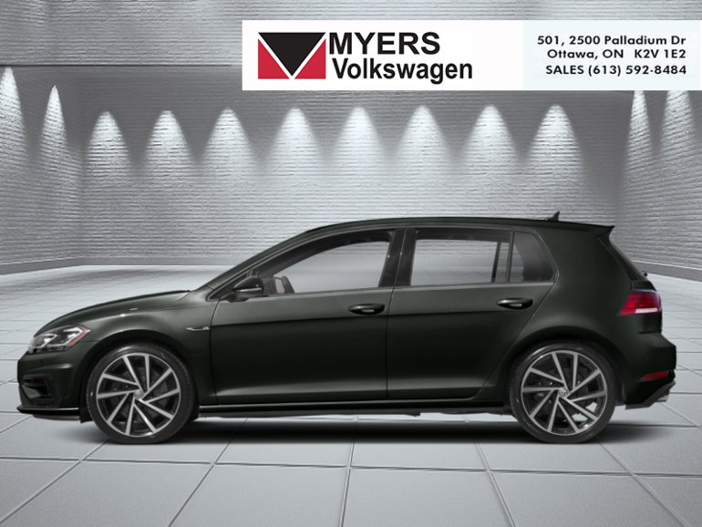 2019 Volkswagen Golf R 5-door Manual