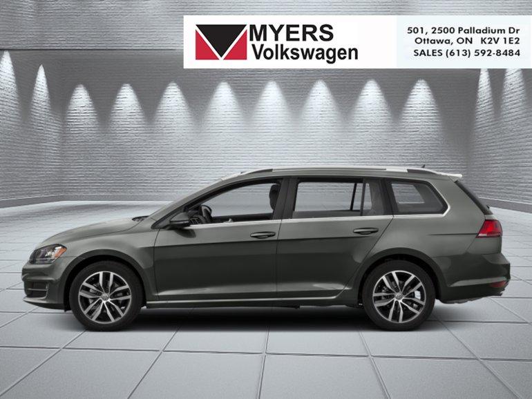 Volkswagen GOLF SPORTWAGEN Highline  - $271.65 B/W 2017