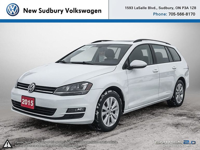 Volkswagen Golf Sportwagon Comfortline 2015