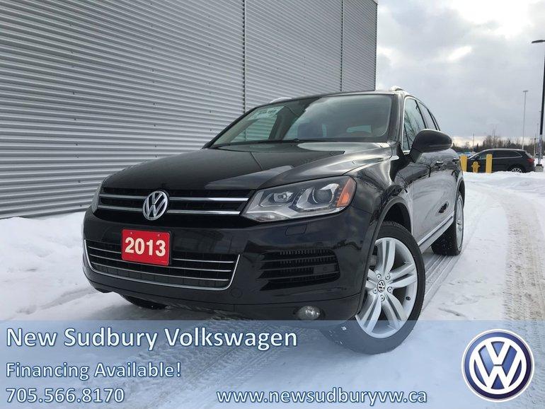 2013 Volkswagen Touareg 4dr AWD 4MOTION 3.0 TDI Execline
