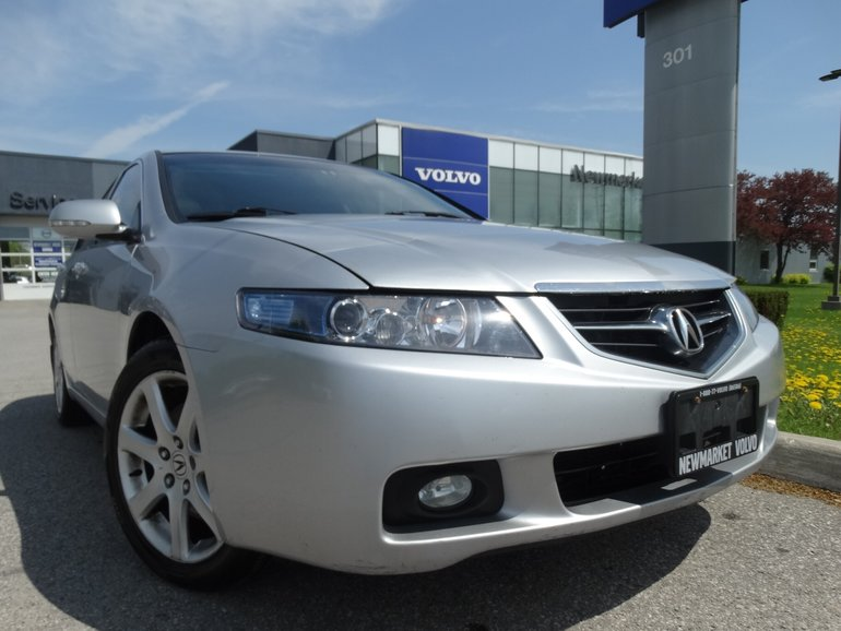 2004 Acura TSX 6 Speed Manual   Low KM