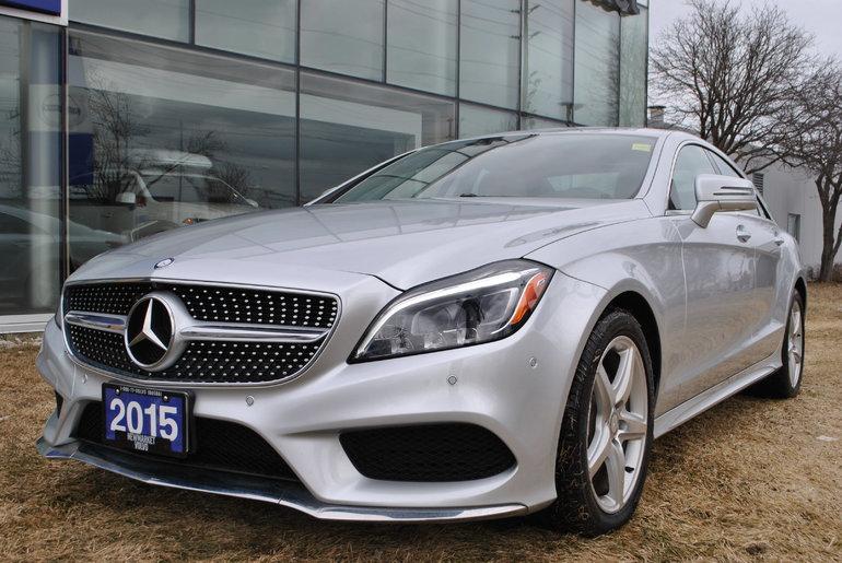 2015 Mercedes-Benz CLS-Class 400 4MATIC Low KM Prem. Pack Sport Pack