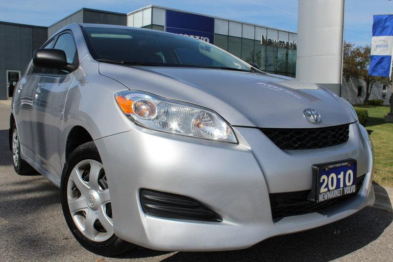 Toyota Matrix 2010 Toyota Matrix - 4dr Wgn Man FWD 2010