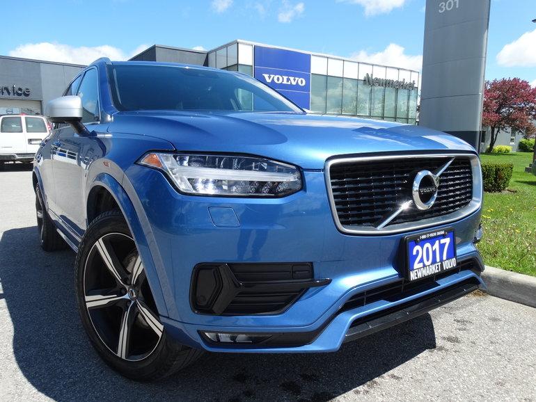 2017 Volvo XC90 T6 R-Design   160KM Warranty   Polestar Tune