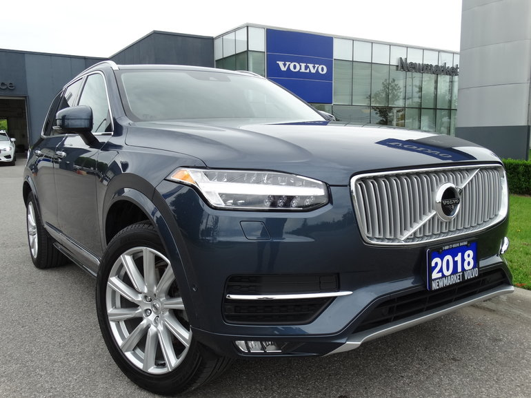 2018 Volvo XC90 T6 Inscription 160KM Warranty Vision Conv.