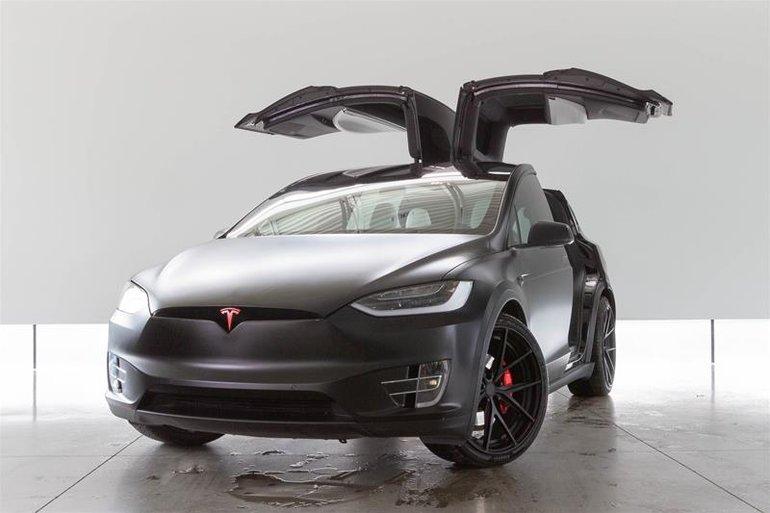 Pre Owned 2018 Tesla Model X 75d 94995 0 Land Rover Langley