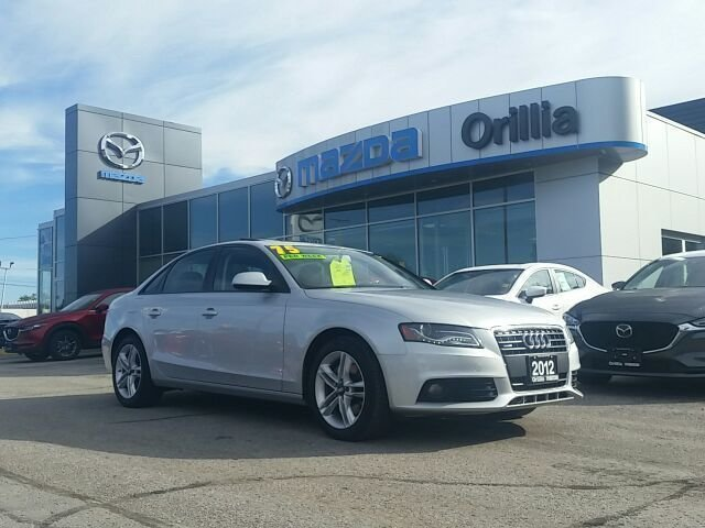 2012 Audi A4 2.0 TURBO-QUATTRO-AWD-ROOF-LEATHER