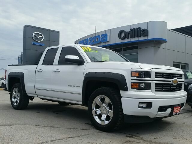 2015 Chevrolet Silverado LT-5.3L V8-CARGO COVER-4 NEW TIRES!