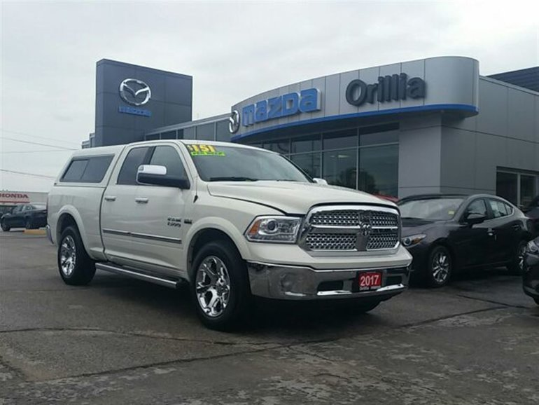 2017 Dodge RAM LARAMIE-NAV-4X4-ROOF-HEATED/VENT. SEATS