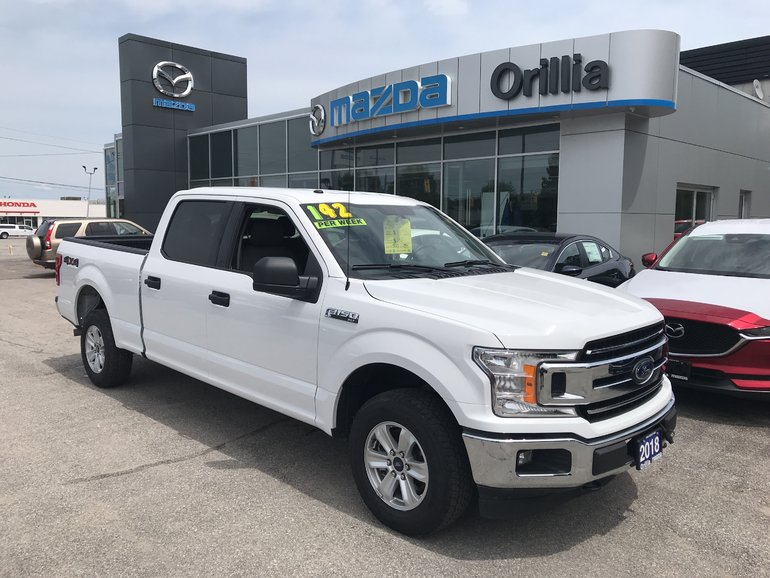 2018 Ford F-150 XLT SUPERCREW-4WD-5.0L V8