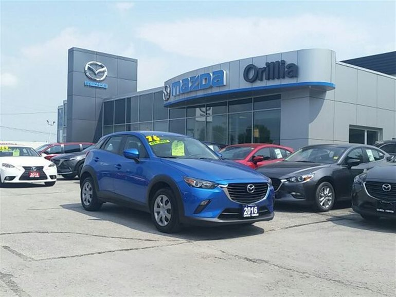 2016 Mazda CX-3 GX-FWD-BACKUP CAMERA-STEERING WHEEL CONTROLS