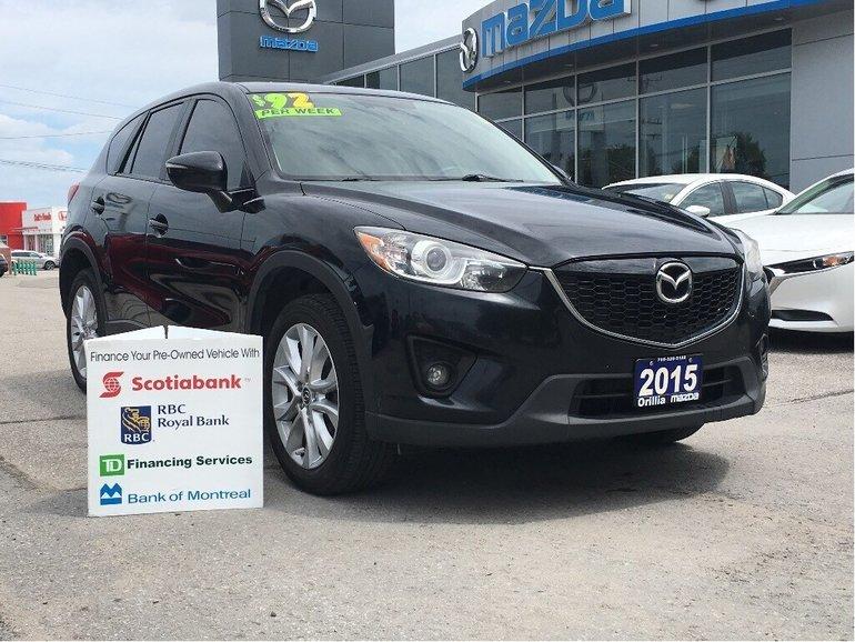 2015 Mazda CX5-SKYACTIV-HEATED SEATS-SUNROOF- GT