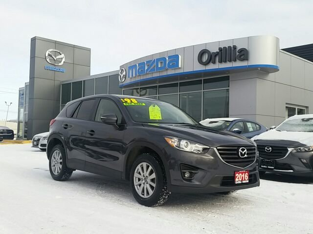 2016 Mazda CX-5 GS-SKYACTIV-AWD-NAV-HEATED SEATS-ROOF