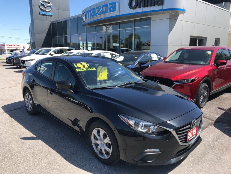 2015  Mazda 3-ONE OWNER-ACCIDENT FREE- GX