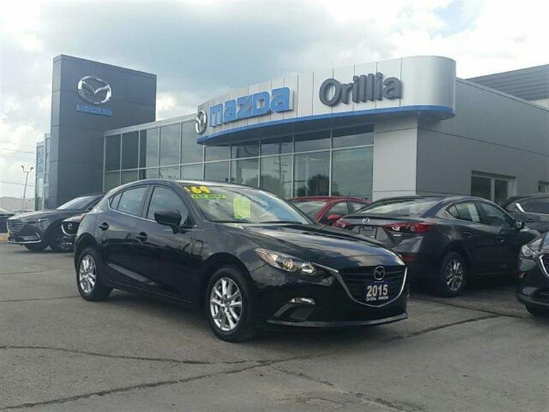 2015 Mazda Mazda3 ***NEW PRICE***GS SKY-HEATED SEATS-BACKUP CAMERA