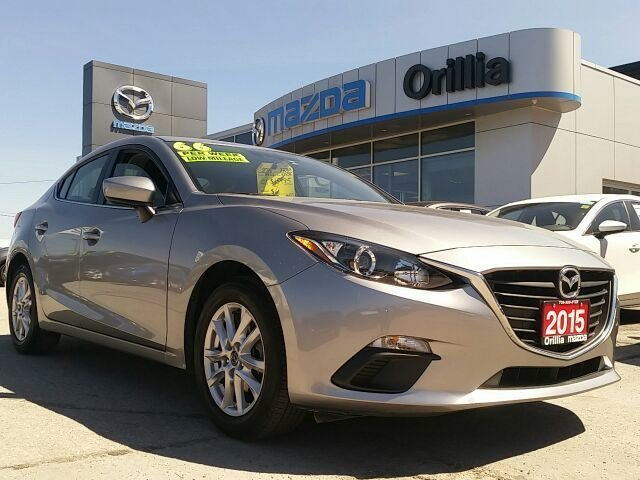 2015  Mazda3 GS SKYACTIV-2.0L-ONE OWNER-LOW KMS