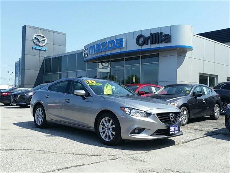 2014 Mazda Mazda6 GS-L-LEATHER-NAV-SUNROOF-HEATEDSEATS