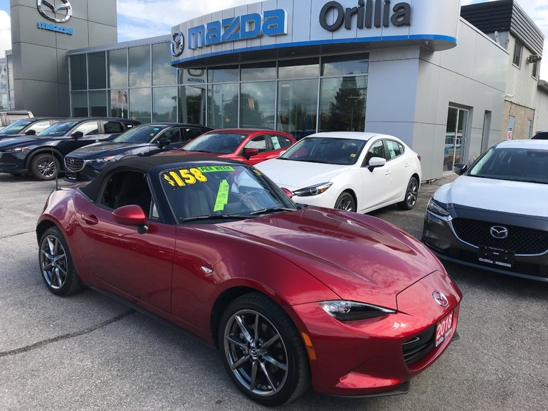 2018 Mazda MX 5 GT-LEATHER-HEATED SEATS