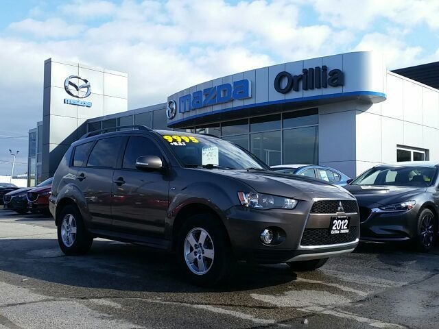 2012 MITSUBISH OUTLANDER V6-AWC-HEATED SEATS