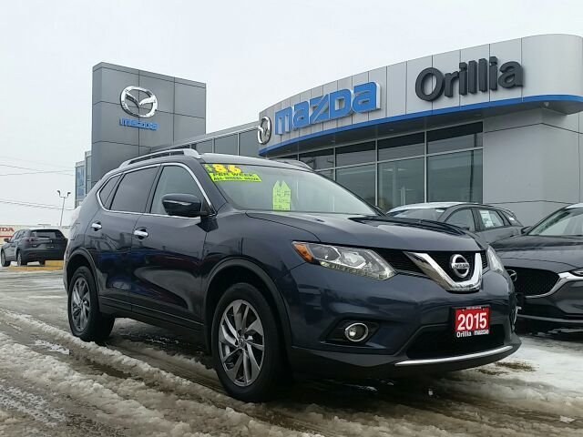 2015 Nissan Rogue SL PREMIUM-NAV-LEATHER-AWD-ROOF-PANORAMIC CAMERA