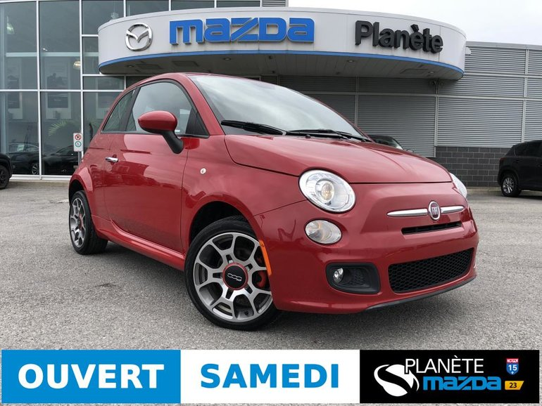 2013 Fiat 500 SPORT AUTO CUIR MAGS CRUISE