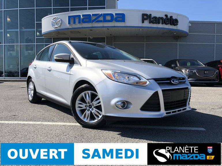 2012 Ford Focus SEL AUTO TOIT CUIR MAGS CRUISE