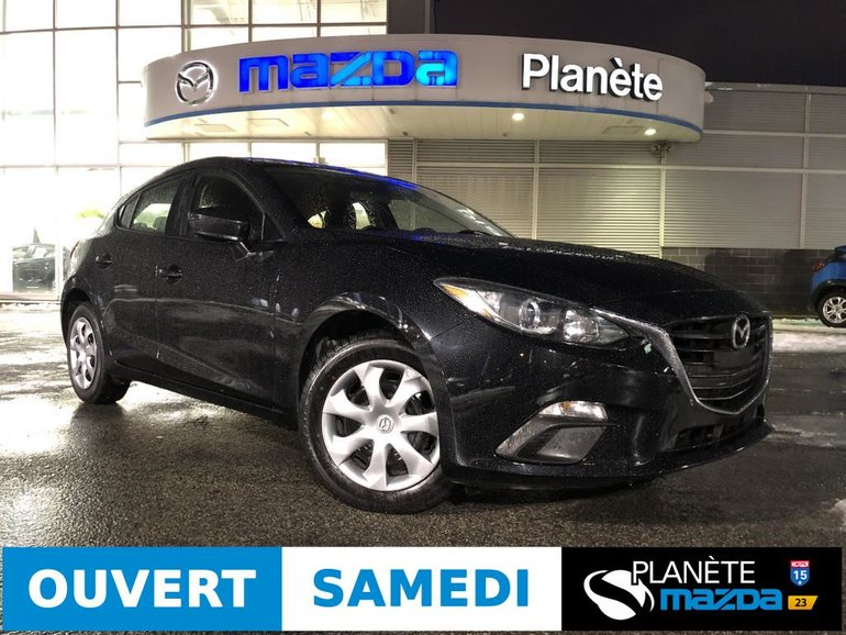 Mazda 3 Sport GX AUTO AIR BLUETOOTH 2015